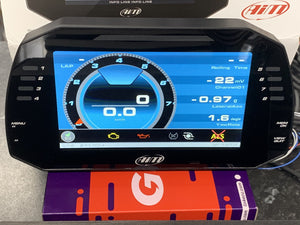 "Aim MXG Strada 1.2 Car Racing 7"" TFT Dash Display"