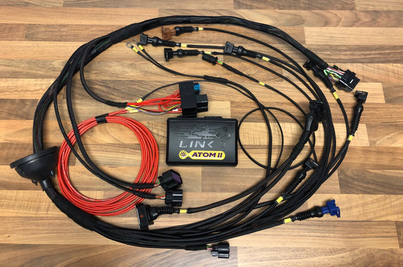 Link ECU G4X ATOM X / MONSOON X ZETEC Wiring Engine Loom & ECU Package