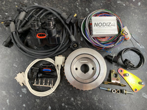 MGB NODIZ Pro Ignition Only ECU Kit With Trigger Kit / Coil Pack / Unterminated Loom - Bike Carbs & DCOES