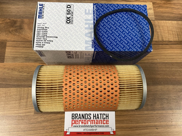 Jaguar E-Type 3.8 I & 4.2 XK I II III OX50D Mahle Oil Filter