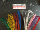 THINWALL AUTOMOTIVE 0.5mm 12V AUTO CABLE 11A CAR ENGINE LOOM WIRE - SOLID COLOURS