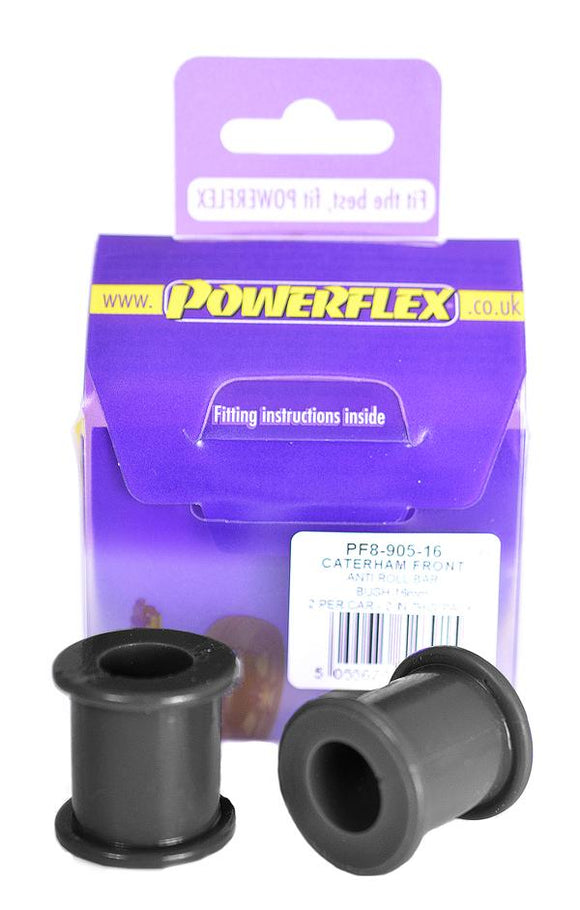Powerflex Caterham 7 Metric Chassis DeDion without Watts Linkage (2006 on) Front Anti Roll Bar Bush 16mm PF8-905-16