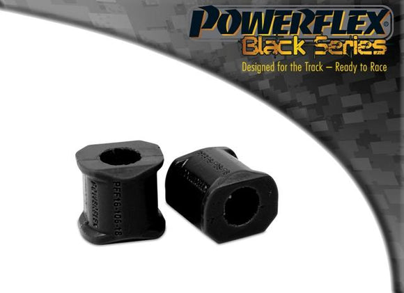 Powerflex Fiat Uno inc Turbo (1983-1995) Front Anti Roll Bar Outer Mount PFF16-106BLK