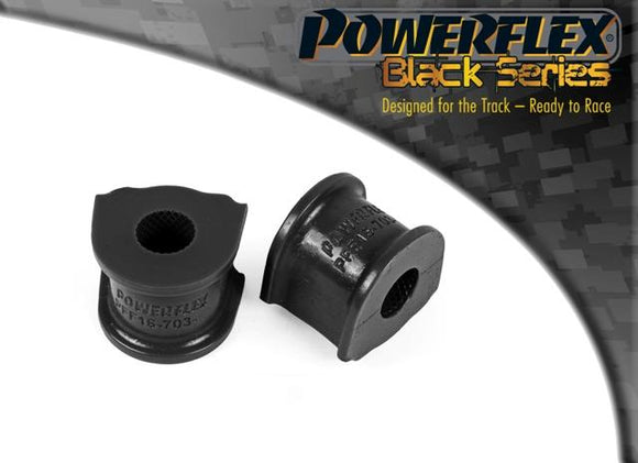 Powerflex Fiat Stilo (2001 - 2010) Front Anti Roll Bar Bush 17mm PFF16-703-17BLK