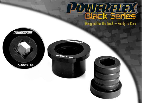 Powerflex BMW E46 (1999 - 2006) Front Wishbone Rear Bush, Aluminium Outer PFF5-5601BLK