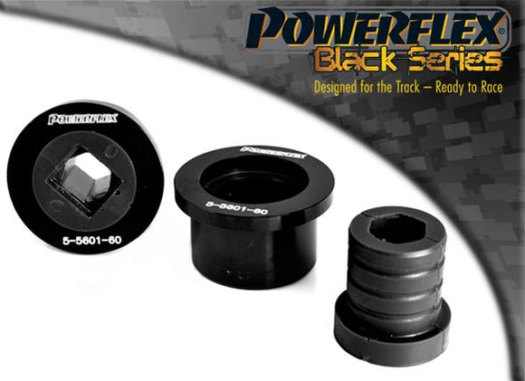 Powerflex BMW E46 (1999 - 2006) Front Wishbone Rear Bush, Aluminium Outer PFF5-5601M3BLK