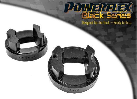 Powerflex Cadillac BLS (2005 - 2010) Rear Lower Engine Mount Insert PFF66-521BLK