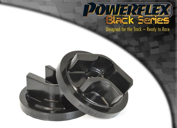 Powerflex Cadillac BLS (2005 - 2010) Rear Lower Engine Mount Insert (Round Centre) PFF80-1221BLK