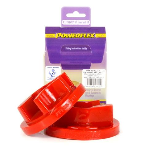 Powerflex Cadillac BLS (2005 - 2010) Rear Lower Engine Mount Insert Diesel (Round Centre) PFF80-1221R