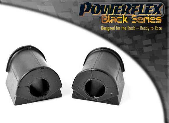 Powerflex Jaguar (Daimler) XJ8, XJR, XJ Sport - X308 (1997 - 2003) Rear Anti Roll Bar Mounting Bush 17mm PFR27-208-17BLK