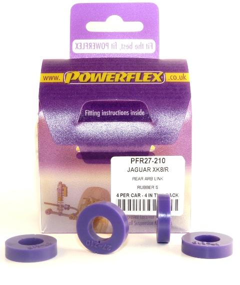 Powerflex Jaguar (Daimler) XK8, XKR - X100 (1996 - 2006) Rear Anti Roll Bar Link Rubbers PFR27-210