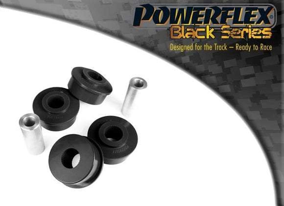 Powerflex Seat Toledo Mk3 5P (2004-2009) Rear Tie Bar to Chassis Front Bush PFR85-508BLK