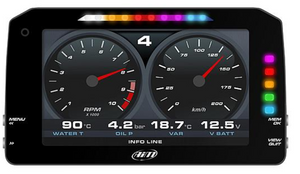 "AIM MXP Strada TFT 6"" Dash Display DATA Logger - RACE VERSION"