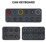 ECUMASTER 12 8 6 Key CANBUS KeyPAD Keyboard Switches