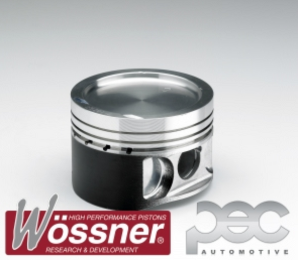 Fiat Uno 1.4 8v Turbo 146A 1990-1992 7.8:1 Wossner Forged Pistons Set