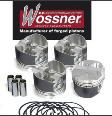 Wossner Ford 1.5 Ecoboost Turbo 3 cyl 9.7:1  Forged Pistons & PEC Rods Set