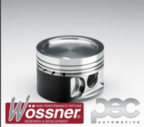 Lancia Delta Integrale 2.0 16V Turbo 836 7.5:1 85mm Wossner Forged Pistons Kit