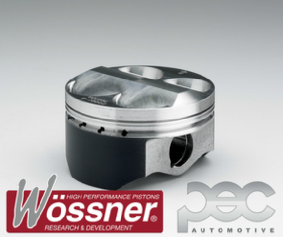 Wossner Nissan 350z 3.5 V6 High Comp VQ35DE 12.0:1 Forged Pistons Set