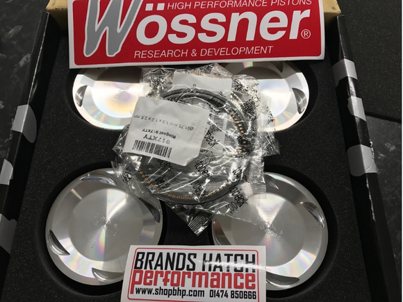 Wossner FORD 2.0 Cosworth YB Turbo 4x4 8.0:1 Forged Pistons Set