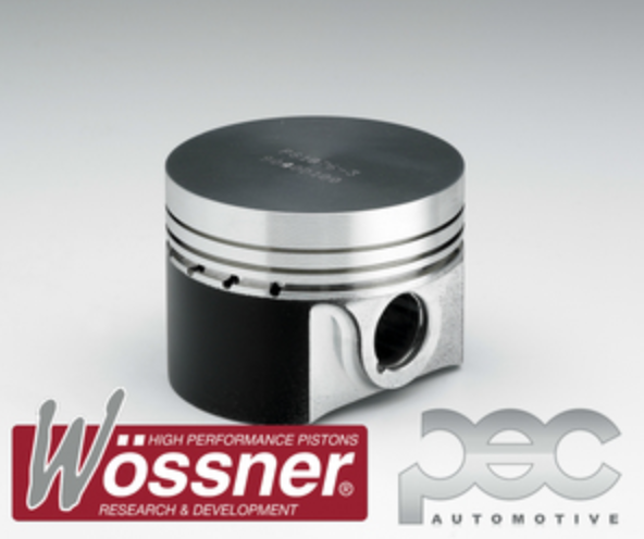 Vauxhall C20XE 2.0 16v Flat Top 3 Ring 11.0:1 Wossner Forged Pistons Kit