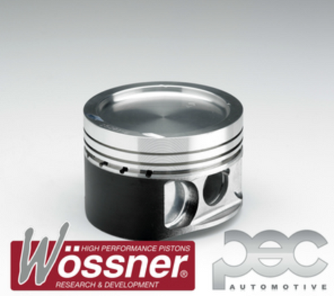 Audi Coupe S2 2.2 Turbo 5 Cylinder 3B / ABY 8.0:1 Wossner Forged Pistons Kit