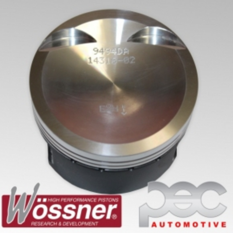 VW & Audi 2.0 16v Turbo TFSI CAW CBF CCT CCZ 2012-2016 23mm Pin 9.5:1 Wossner Forged Pistons Kit