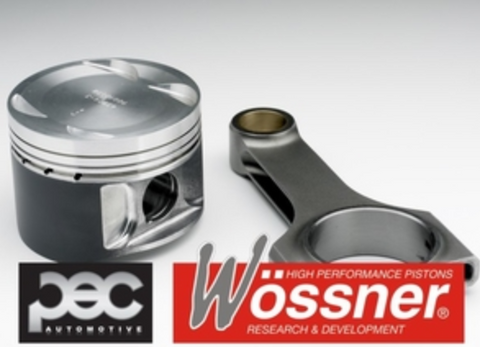 Wossner Audi TT RS 5cyl 9.5:1 Forged Pistons & PEC Rifle Drilled Rods Set