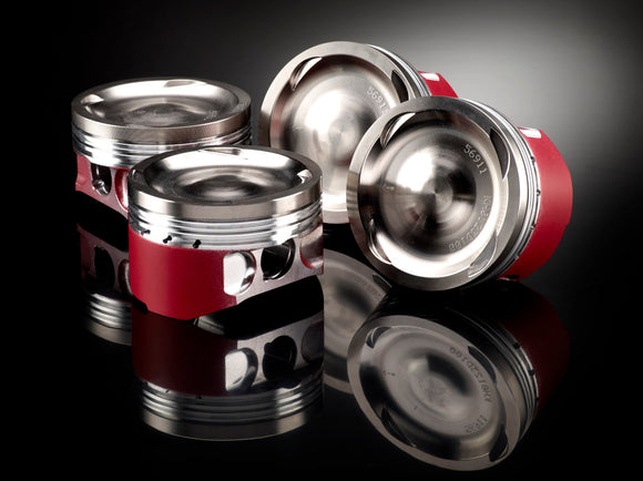 Porsche 996 & 911 Carrera 4S 2001-2005 11.3:1 Wossner Forged Pistons Set