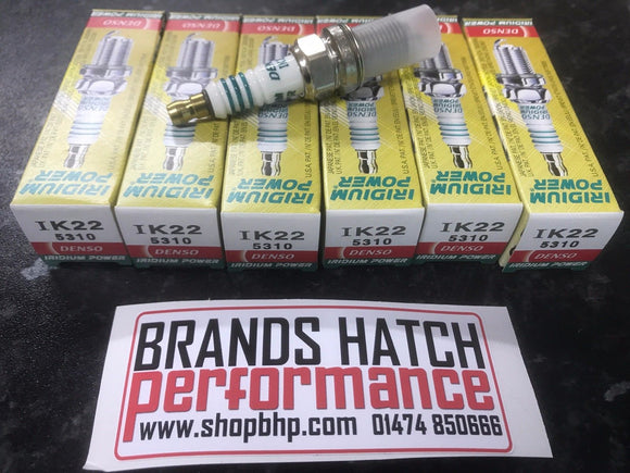 6 X Denso Iridium Skyline RB26 STD to Stage 1 Spark Plugs IK22
