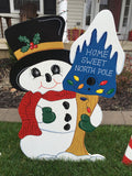 Snowman Home Sweet North Pole