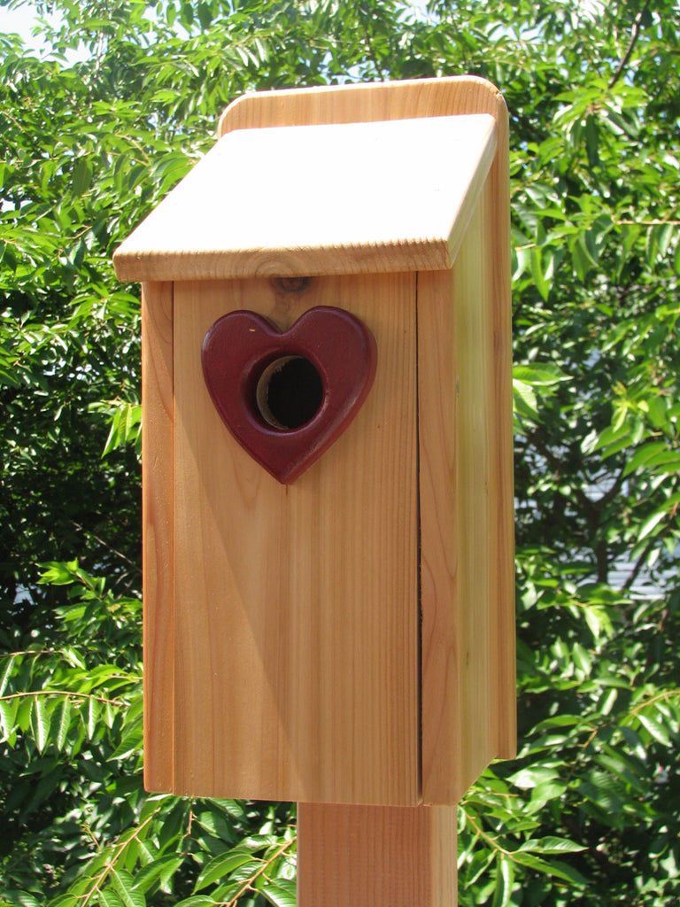 Cedar Shed Roof Bluebird Birdhouse