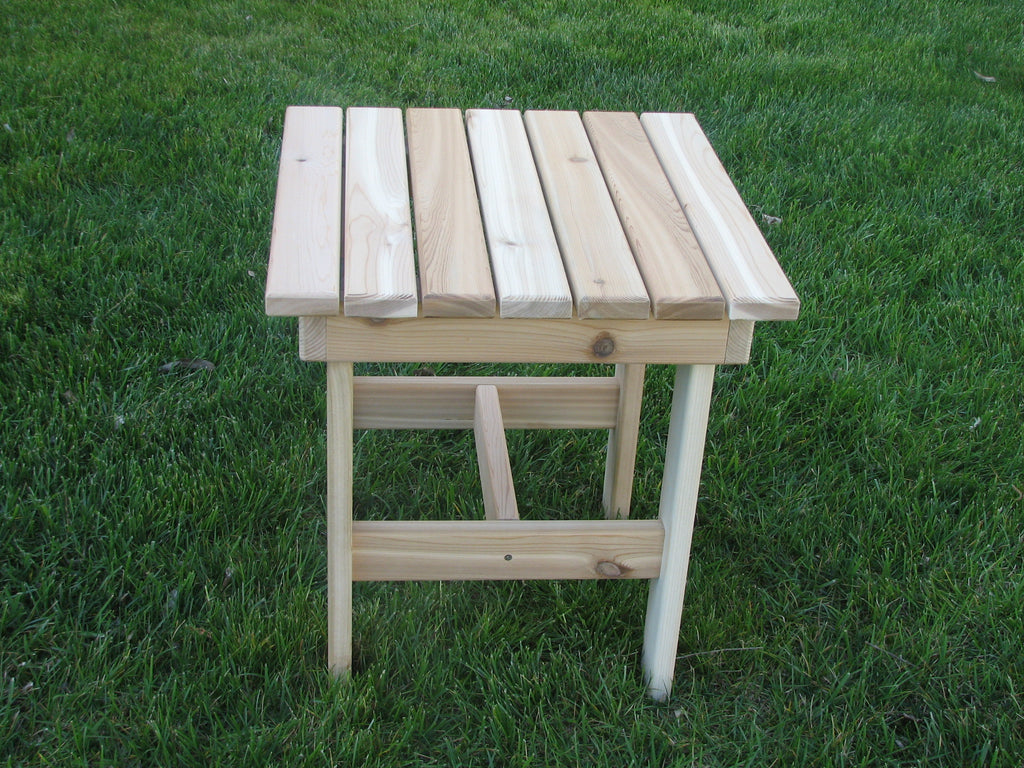 Adirondack Square Side Table