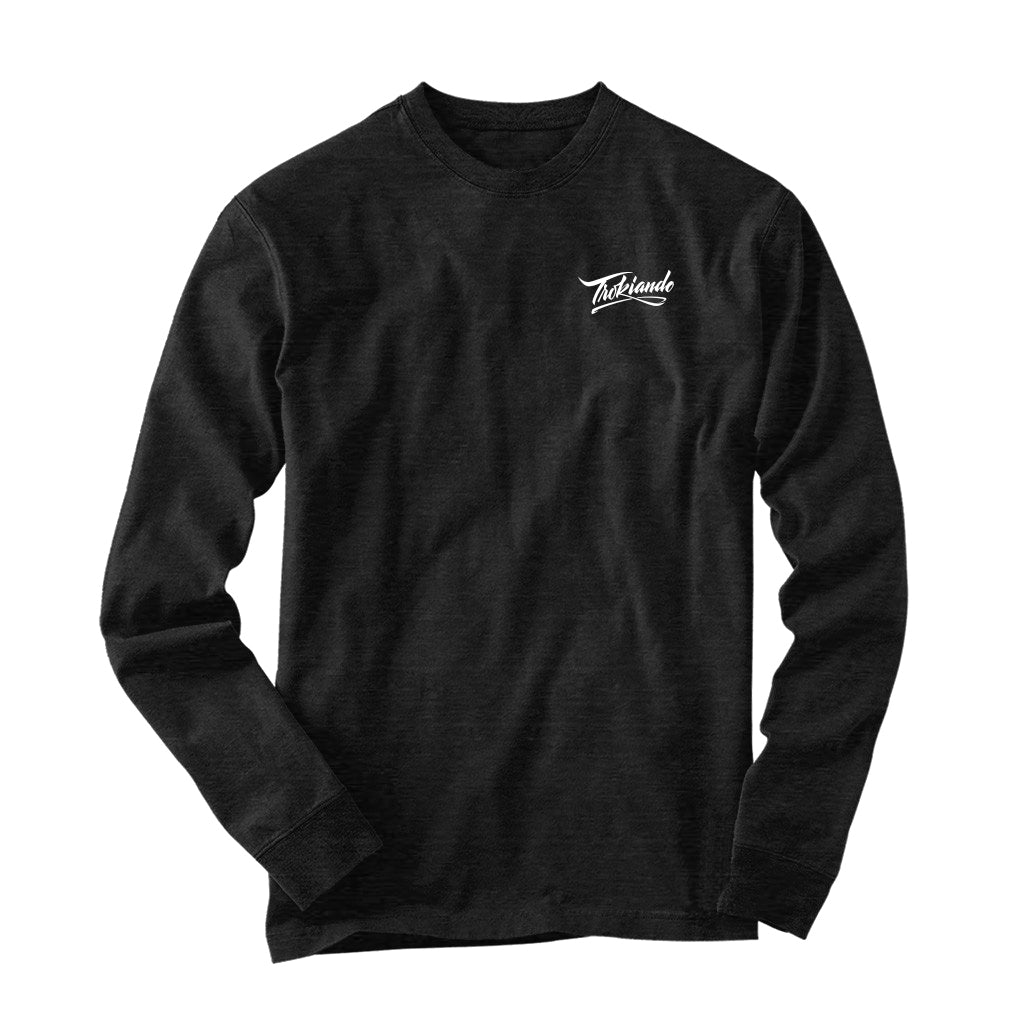 Black Heather Long Sleeve