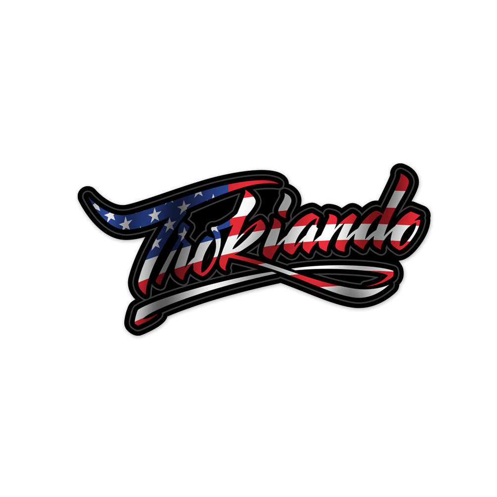 Small Lettering Decal - USA