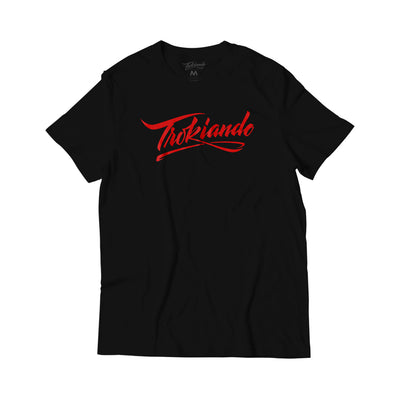 Trokiando Lettering Black/Red
