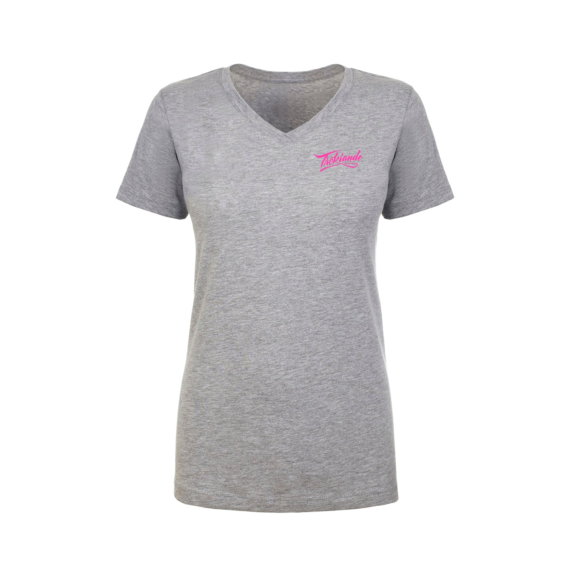 Lady Vneck (Grey)