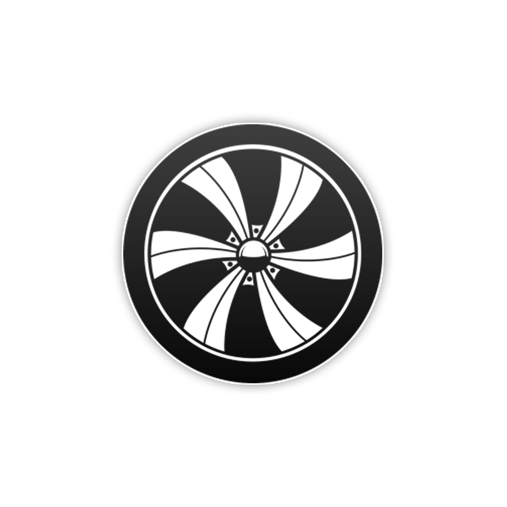 Mini Wheel Sticker