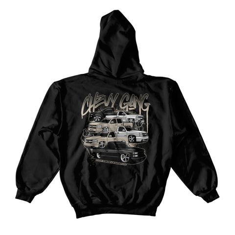 CHEVY GANG V2 HOODIE (PEWTER)