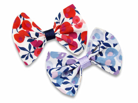 Liberty Wiltshire E and S baby bows