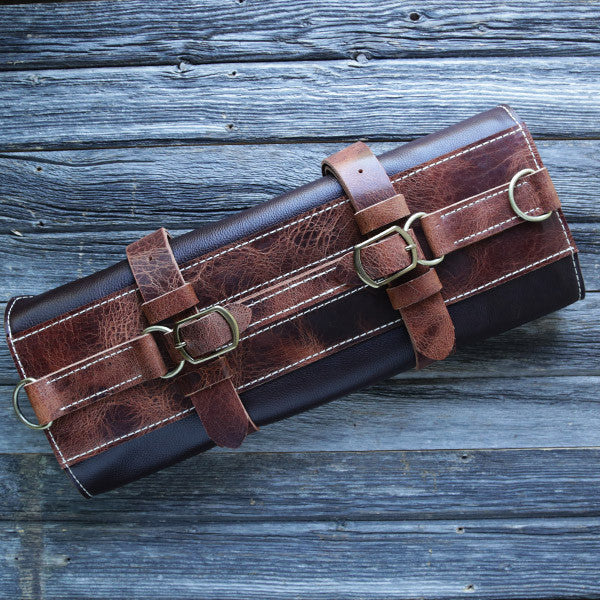 Executive Chef Leather Knife Roll