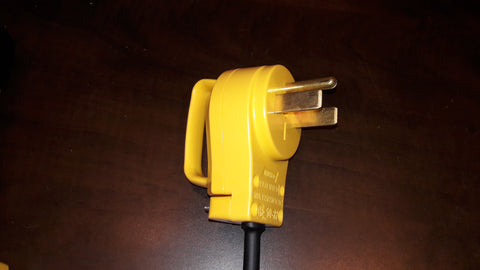 Adapter #31 30A Extension cord, no neutral with Camco EZ-Pull handles for Electric Vehicles