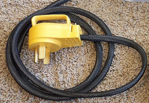 Premium Braided 14-50 Input Cable for 30amp and 40amp EVSE's