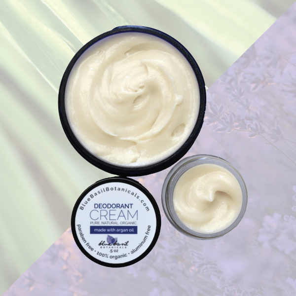 Natural Deodorant Cream Travel Size
