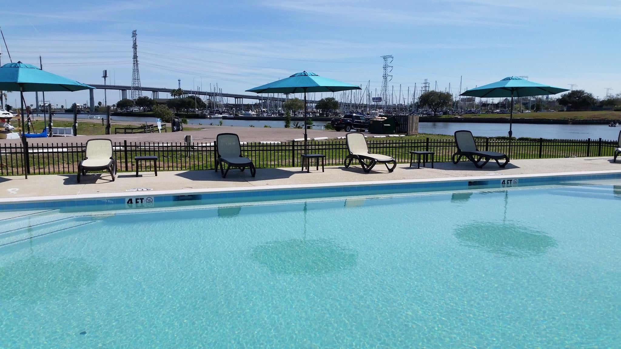 seabrook marina in texas adds a new pool