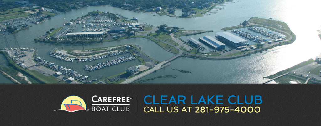 Care Free Boat Club at Seabrook Marina Texas