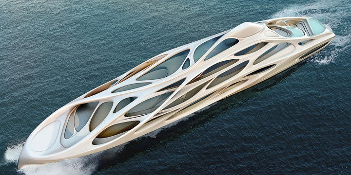 What will boats be like in 100 years - Futuristic super yachts - Seabrook Marina & Shipyard Texas
