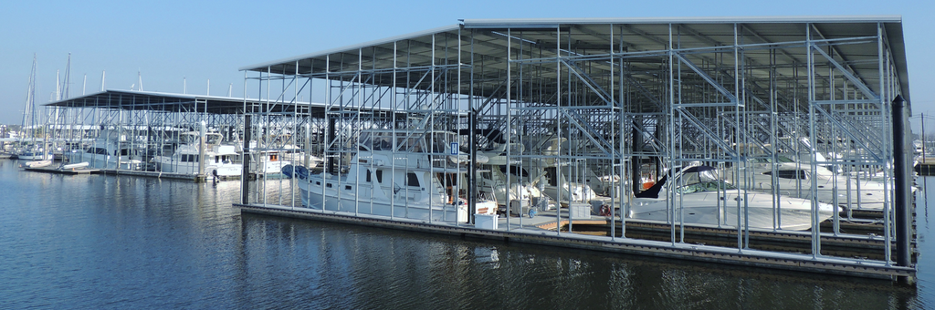 Seabrook Marina fixed floating docks - how to prevent fires
