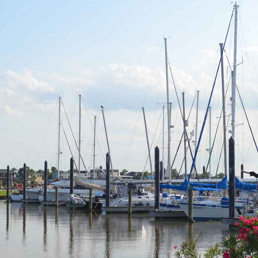 Seabrook Marina largest marina on the Gulf Coast in Texas
