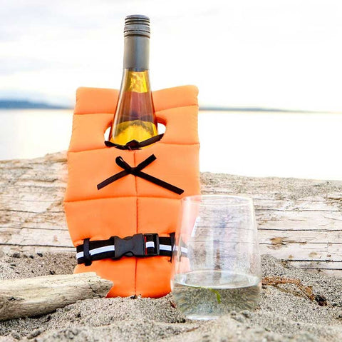 Life Preserver for Wine bottles - stocking stuffer for christmas 2016