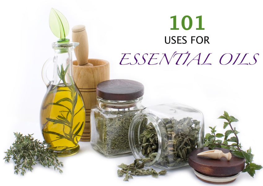 101 USES FOR ESSENTIAL OILS